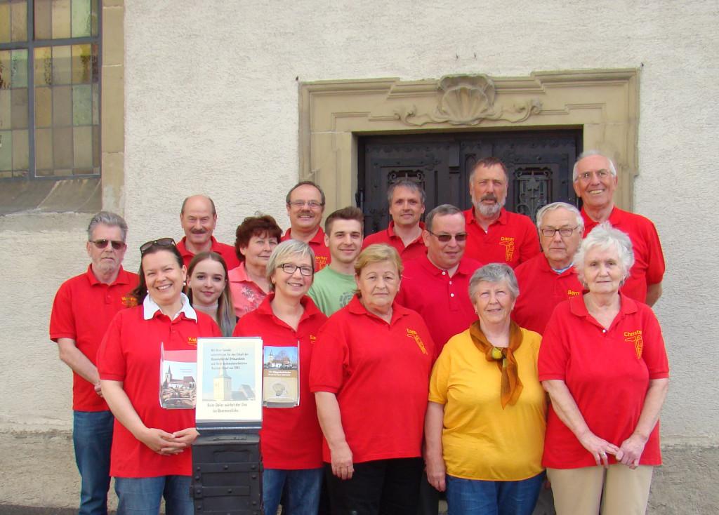 Mitglieder des Aktiven Ottmarsheim Gruppenbild Peter Hildebrandt Ottmarsheim
